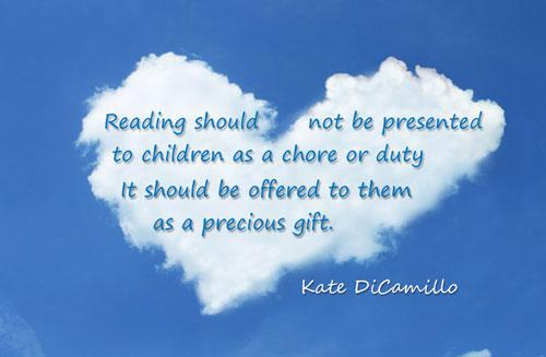 Children should be presented to children as a precious gift.